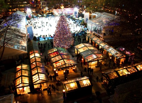 Get In The Holiday Mood at Bryant Park Winter Village
